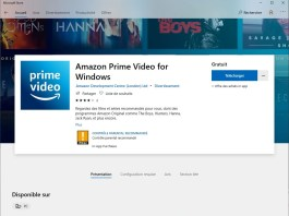 Prime video application windows 10