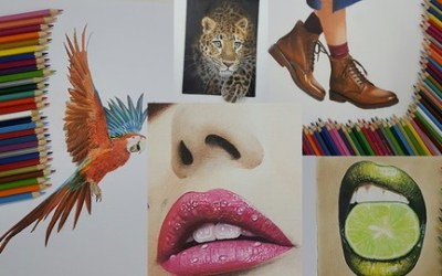 Ultimate Realistic Drawing: Master Colored Pencil Drawing