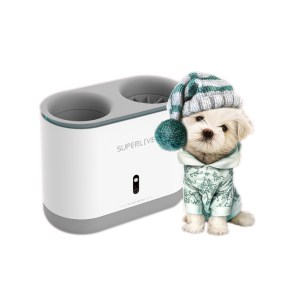 Dog Paw Cleaner Cup Silicone Combs Automatically Foot Washer UV Sterilization Portable Pet Foot Washer USB Charging