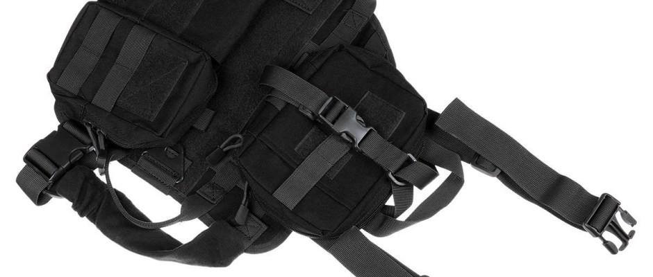 S 1000D Nylon Waterproof Dog Tactical Vest Military Training Clothes