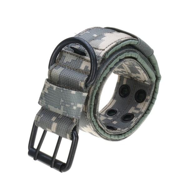 L Tactical Military Adjustable Dog Training Collar Nylon Leash w/Metal Buckle