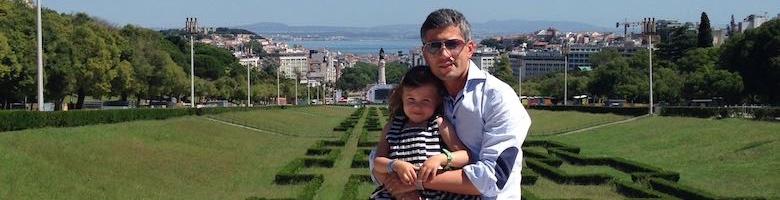 Vader-dochter trip naar Lissabon