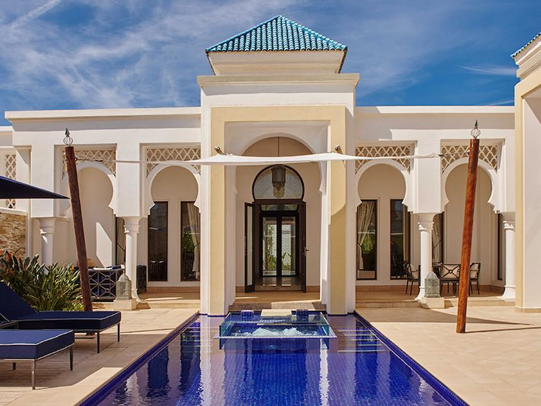 Style at Banyan Tree Tamouda Bay near Tangier, Morocco, featured in this article with family-friendly luxury resorts in the Mediterranean