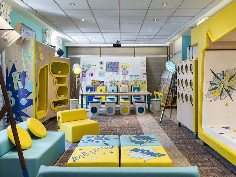 Kids club at the Hotel Barriere Le Majestic in Cannes, France, featured in this article with family-friendly luxury hotels in the Mediterranean