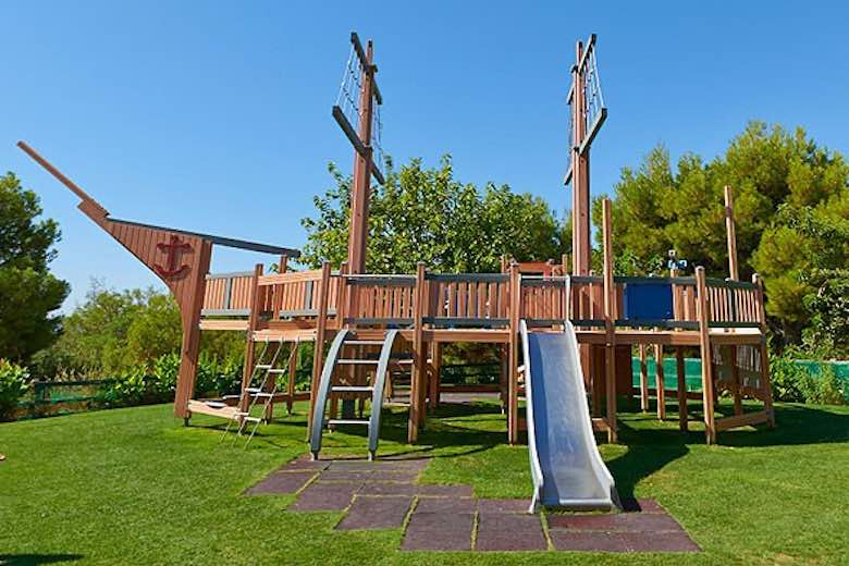 Pirates Club play area at Asia Gardens Hotel, one of 10 exquisite family-friendly luxury hotels in Spain