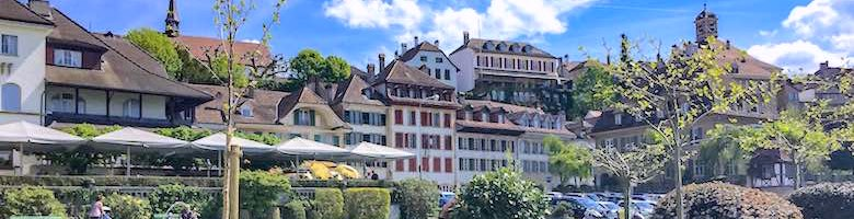 Spending a day in medieval Murten with kids