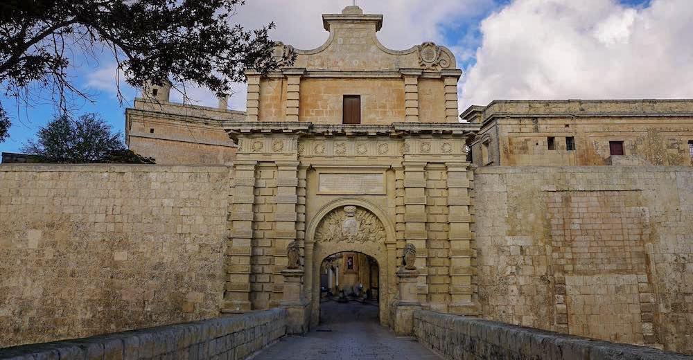 Mdina castle, one of the most stunning places to visit in Malta