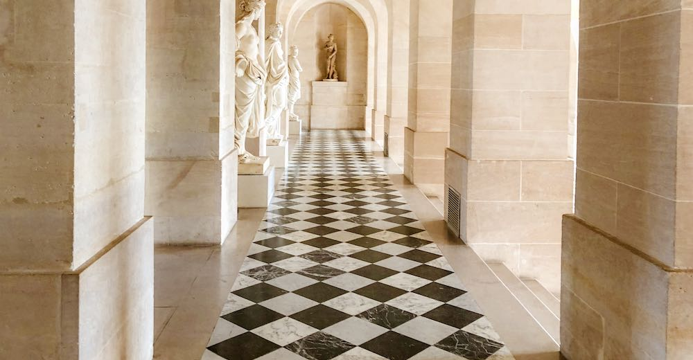 The Lower Gallery of the Versailles Palace