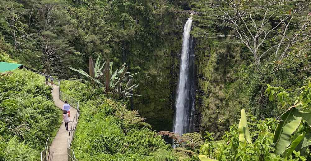 One of the most impressive Big Island hikes is in Akaka Falls State Park