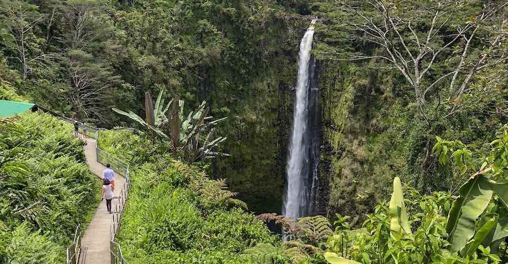 Akaka Falls State Park on Big Island's windward side