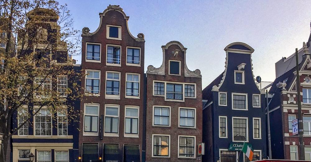 Dancing houses, an Amsterdam must-see