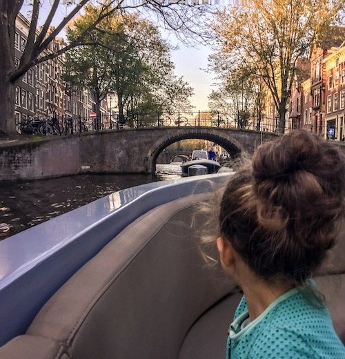 This open boat canal cruise was the highlight of our 2 days in Amsterdam