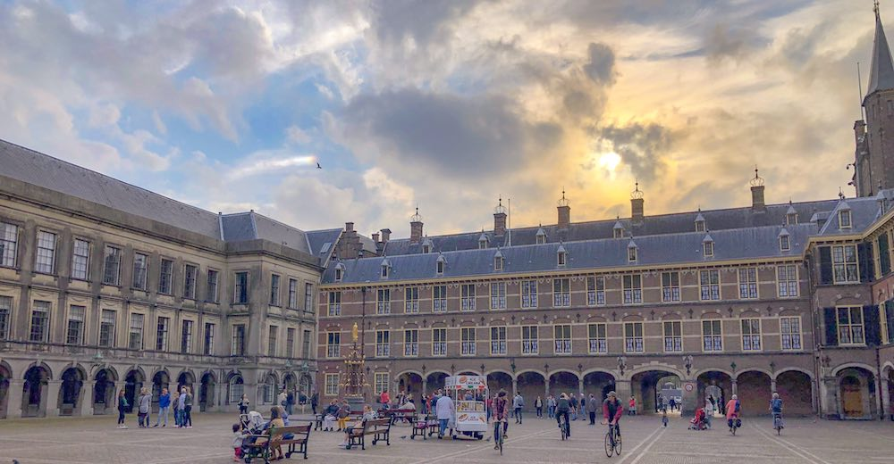 The Binnenhof is one of the classic The Hague points of interest