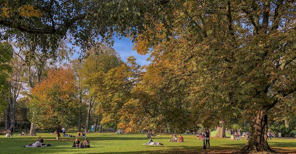 The Palace gardens or Paleistuin is free for visitors and a great spot for a break when you visit The Hague