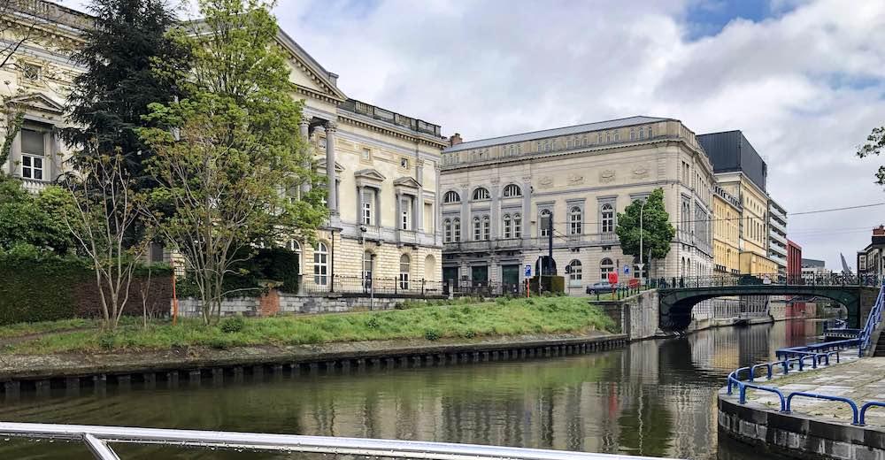 Gent vanaf het water