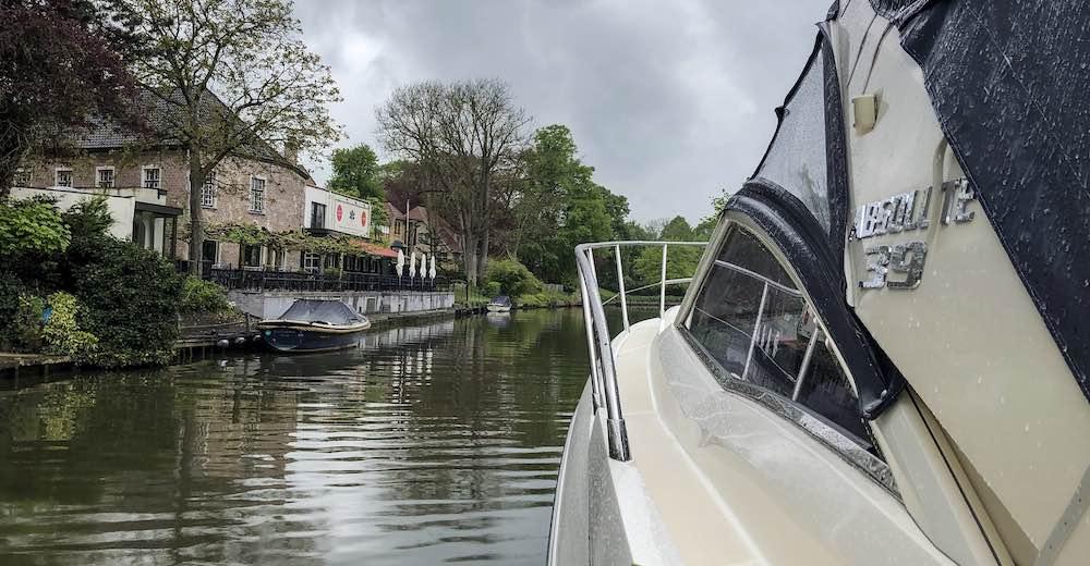 Cruise op de Gentse wateren