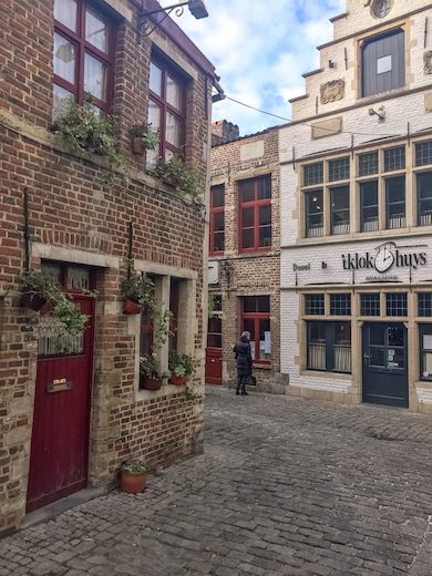 The medieval streets of the Patershol district