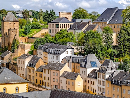 Views over Luxemburg City