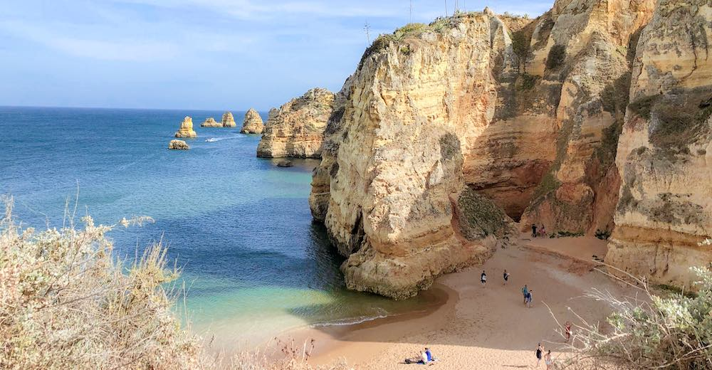 Praia Dona Ana or Dona Ana beach is the number one in every Lagos beach guide