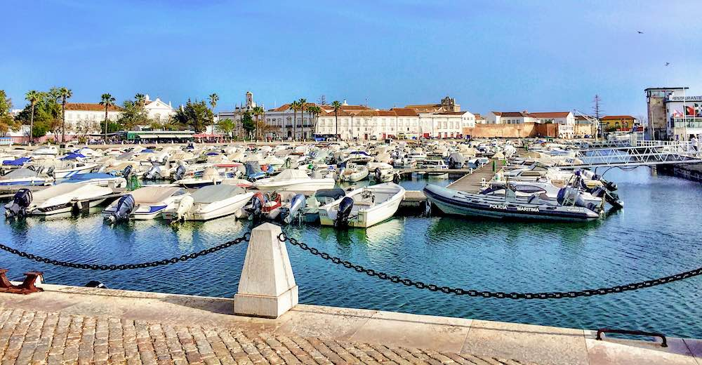 Faro makes for a great day trip from Lagos, Portugal