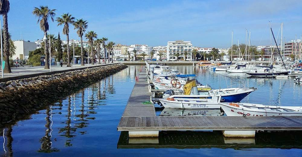 One of the best things to do in Lagos Portugal is taking a stroll around the Lagos marina