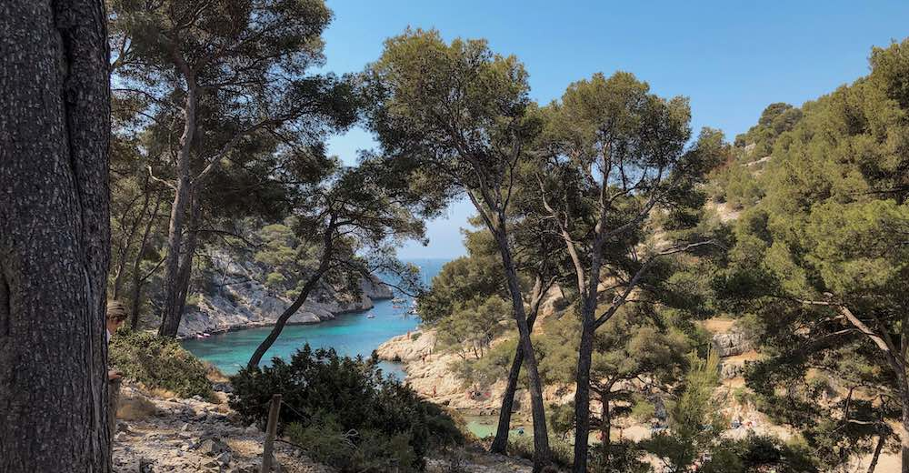 The Calanques that form the highlight of Cassis tourism
