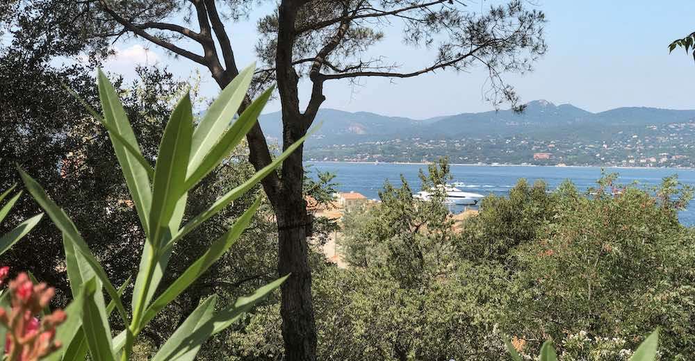Views from the Citadel, one of the Saint Tropez tourist attractions