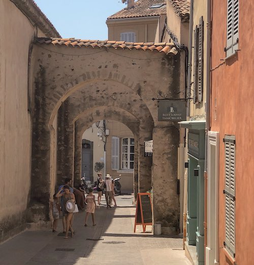 La Ponche is one of the main Saint Tropez tourist attractions