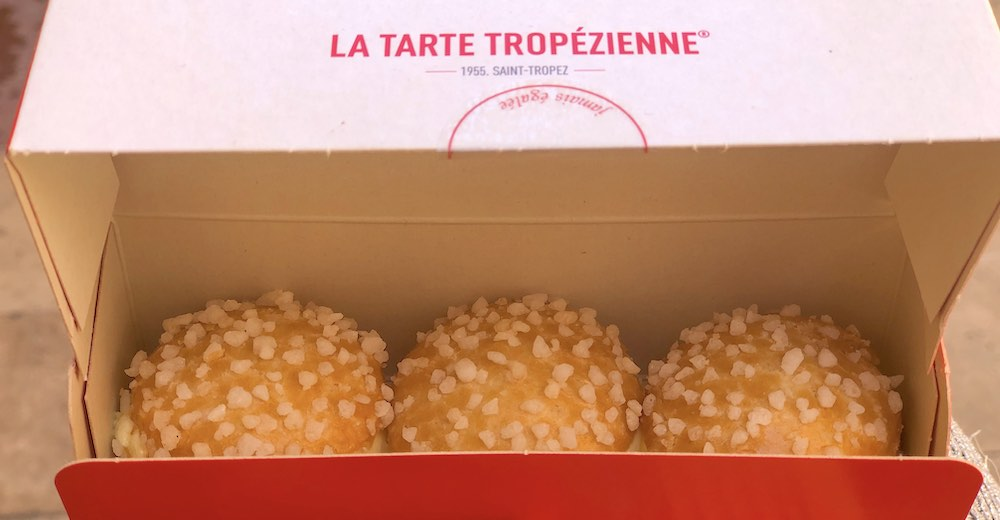 Trying the famous Tarte Tropezienne is one of the Saint Tropez things to do
