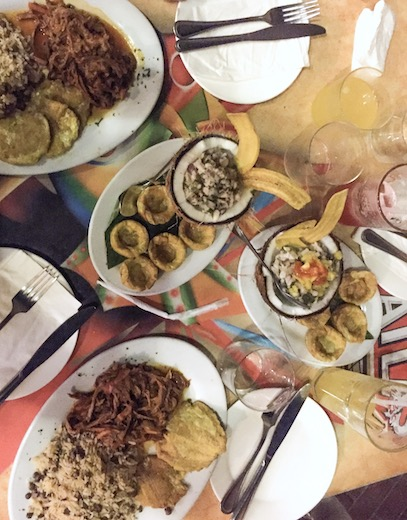 Ropa Vieja and other Panamanian food