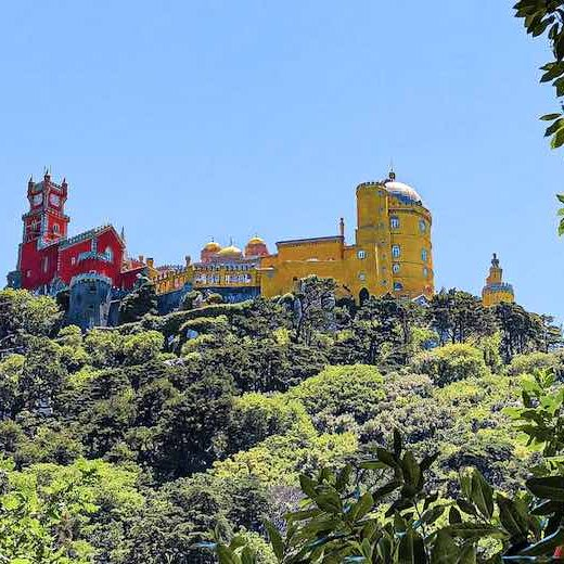 Pena Palace is an absolute must-see place in Portugal