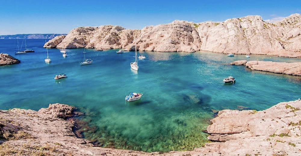 A boat trip to the Frioul Islands is a popular thing to do in Marseille France