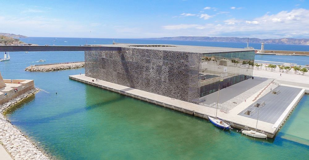 The modern MuCEM is one of the main Marseille France points of interest