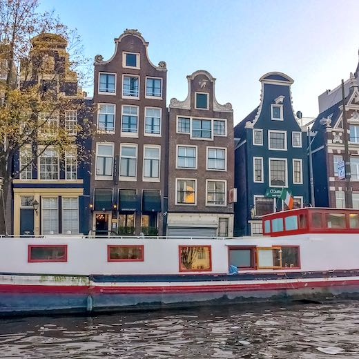 What to do in Amsterdam in 2 days is see the dancing houses