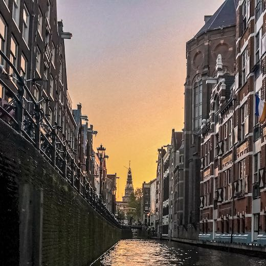 This open boat canal cruise is a must do for any Amsterdam itinerary