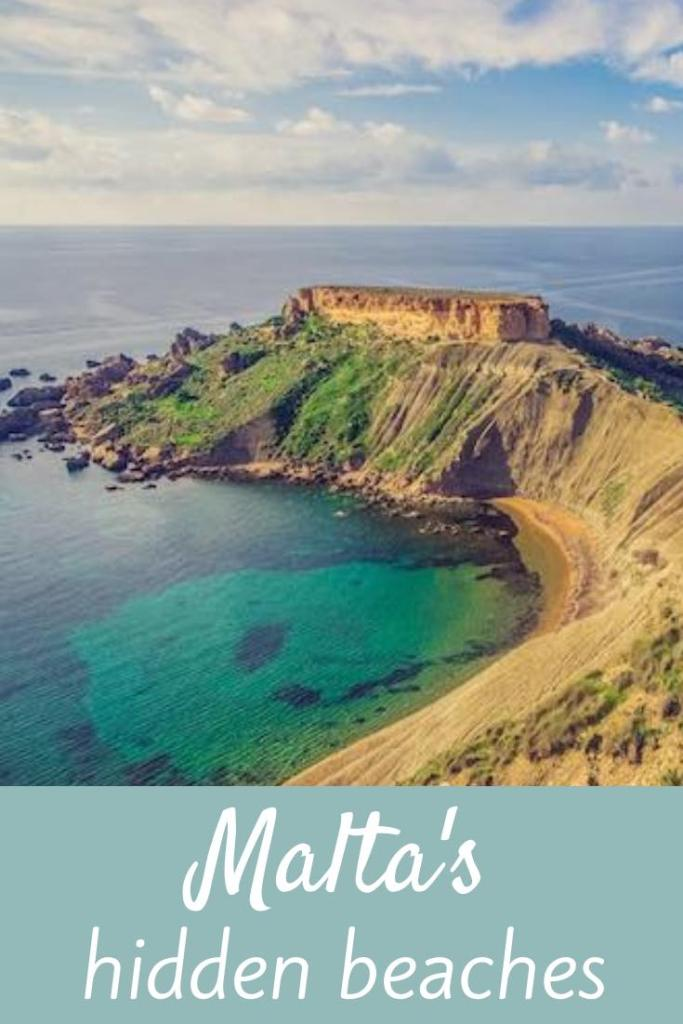 Malta has some gorgeous beaches... if you know where to look. Here's our insider's guide to Malta's hidden beaches. #malta #beach #beaches