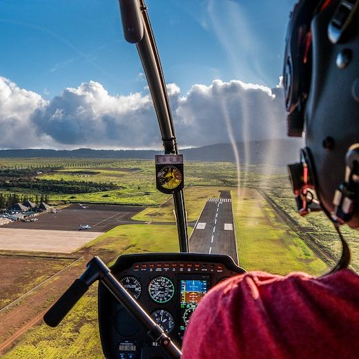 Hawaii island hopping day trip by helicopter