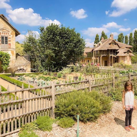The Queen's Hamlet is a must before returning to the station Versailles