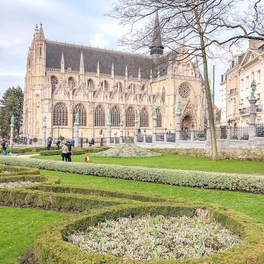 Petit Sablon is must-see on this 1 day in Brussels Belgium itinerary