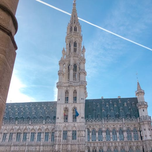 The Brussels town hall is one of the highlights of any Brussels day itinerary