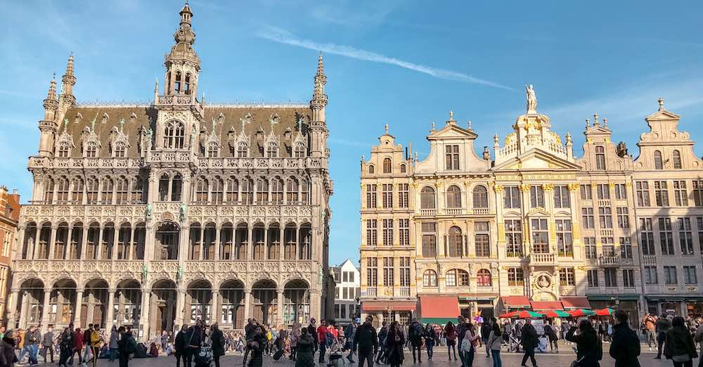 The Grand Place is the starting point for this one day Brussels itinerary for first time visitors