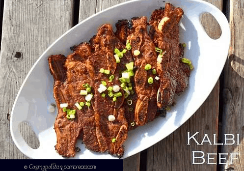 How to make Kalbi Beef | Cosmopolitan Cornbread