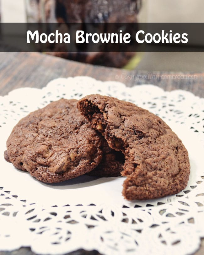 Mocha Brownie Cookies from Cosmopolitan Cornbread