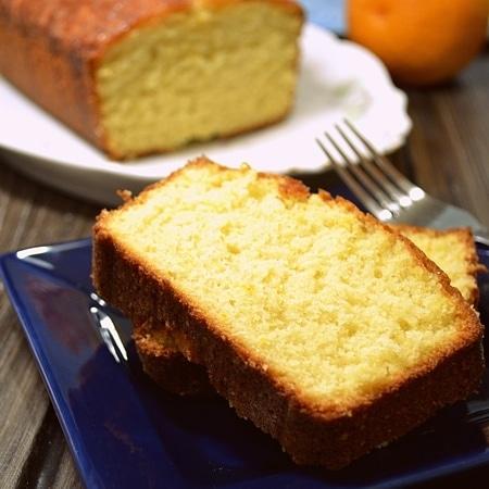 Orange Glazed Pound Cake
