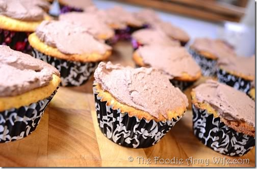 Chocolate Mascarpone Frosting from Cosmopolitan Cornbread