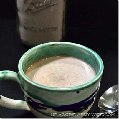 Homemade Hot Cocoa Mix from The Foodie Army Wife