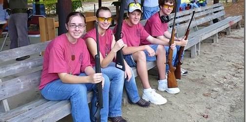 Kids & Guns: The Rifle Range