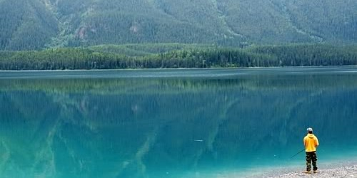 The Beautiful Muncho Lake | An army family of five with three pets, travel from Fort Bragg, North Carolina to Fort Wainwright, Alaska, across country and through the wilderness of the Alaska Highway.