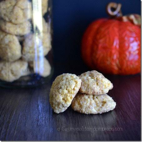 Pumpkin Snickerdoodles from Cosmopolitan Cornbread