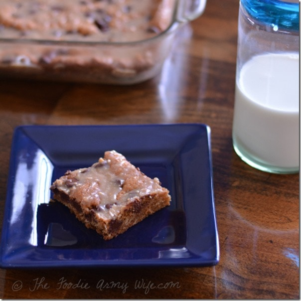 Triple Cookie Bars | The Foodie Army Wife
